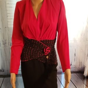 Designer Liancarlo dress size 12
